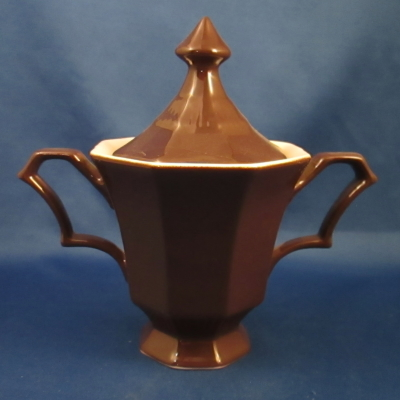 Independence Cane Brown sugar bowl with lid