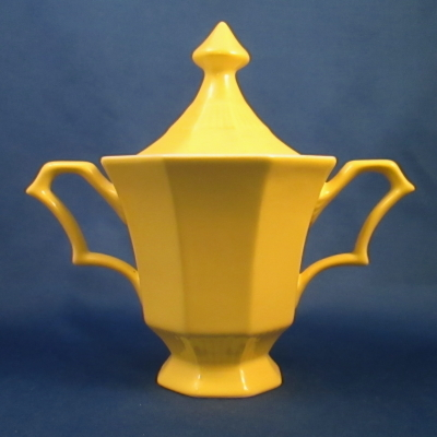 Independence Daffodil sugar bowl with lid