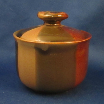 Independence Sequoia sugar bowl with lid