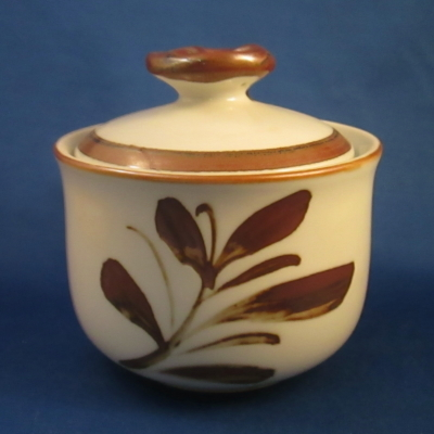 Independence Taos sugar bowl with lid
