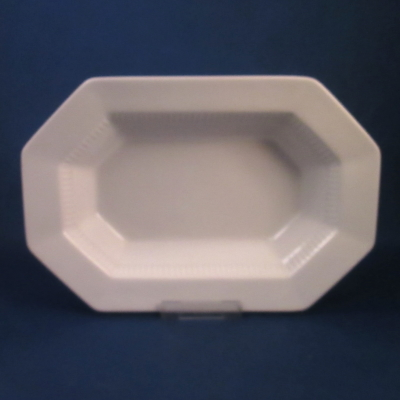 Independence White small oval vegetable bowl