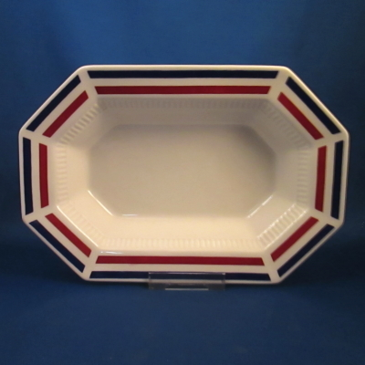 Independence Yankee Doodle large and small oval vegetable bowls