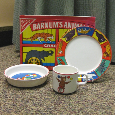 International China-Yamaka Barnum's Animals 3-pc Child Set