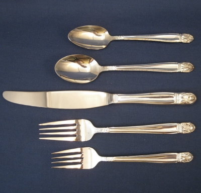 Danish Princess (Silverplate) 5 pc Place Setting