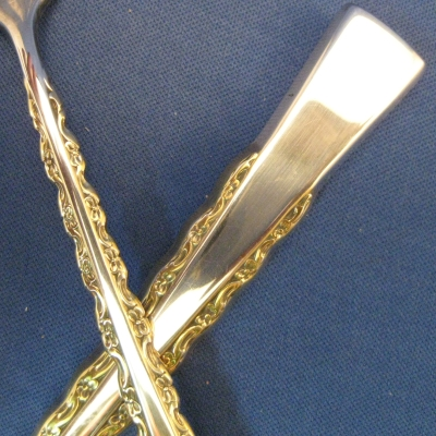 Camille Gold Accent, Silverplate