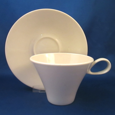 Iroquois Bridal White cup & saucer
