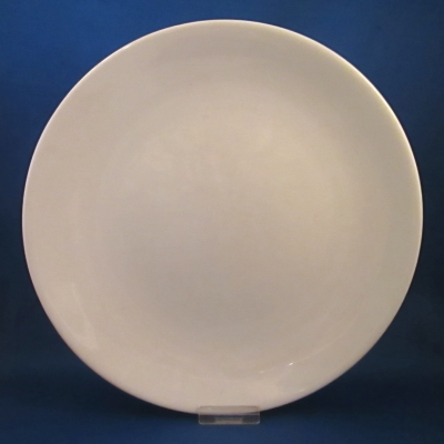 Iroquois Bridal White dinner plate