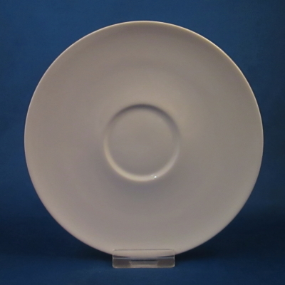 Iroquois Sheer White saucer