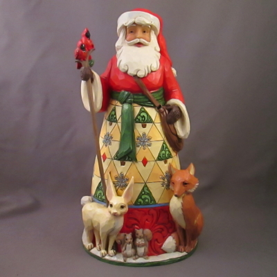 Christmas for All, Santa with woodland animals