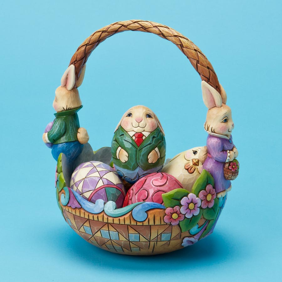 Bunny Couple Easter Basket