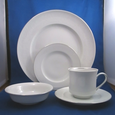 Johann Haviland Morning Mist set of four 5-piece place settings
