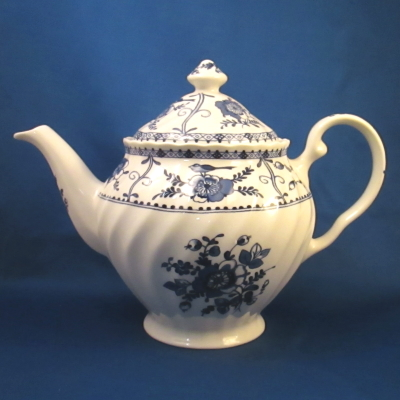 Johnson Brothers Indies-Blue teapot