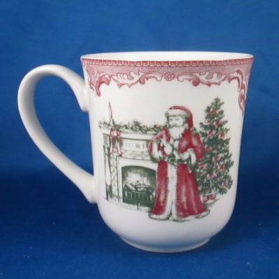 Old Britain Castles-Pink Christmas (1883 - Made in China backstamp