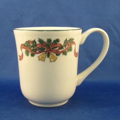 Johnson Brothers Victorian Christmas coffee mug (9 oz) - $20 00