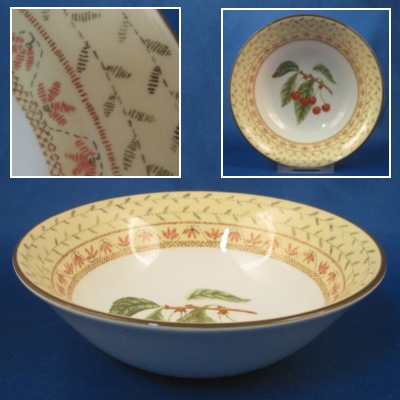 Johnson Brothers Fruit Sampler (newer) soup-cereal bowl