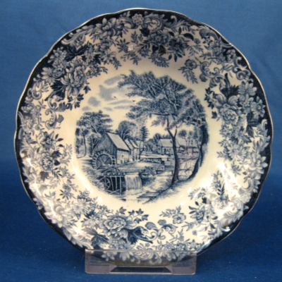 Johnson Brothers Millstream-Blue fruit-dessert bowl