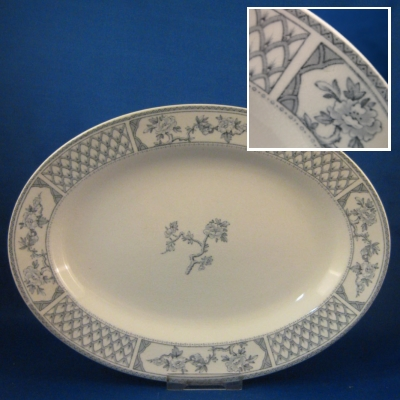 "Johnson Brothers The Exeter small oval platter (10 3/4"")"