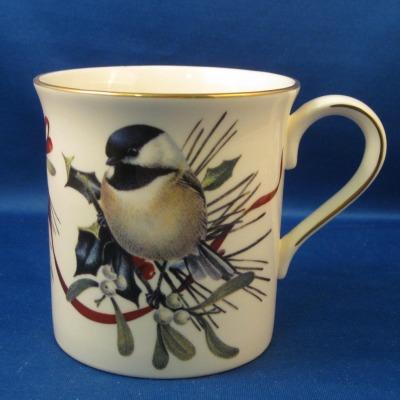Lenox winter greetings mug chickadee 000 hoffmans patterns of lenox winter greetings mug chickadee m4hsunfo