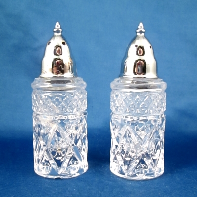 Lenox Cape Cod crystal salt and pepper