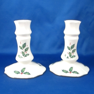 Lenox Holiday Archive Candlestick Pair (set of 2)
