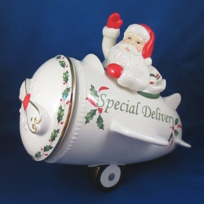 Lenox Holiday Countdown 'till Christmas cookie jar