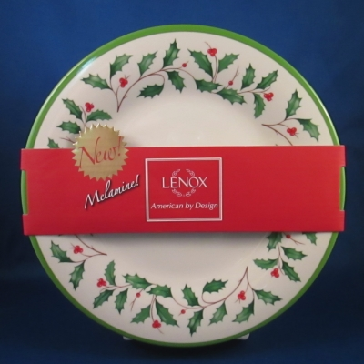 Lenox Holiday Melamine accent/salad plates, set of 4