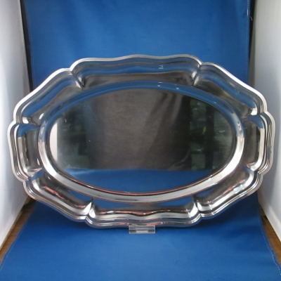 Lifestyle 18/10 stainless oval tray