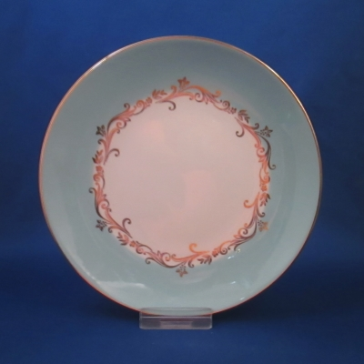 Lifetime Gold Crown bread & butter plate