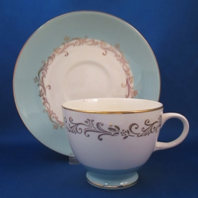 Lifetime Gold Crown cup & saucer