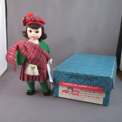 Madame Alexander Scotland doll