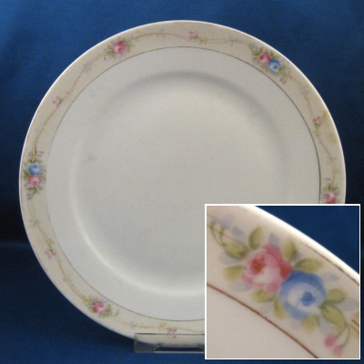 Noritake Marguerite salad plate (AS IS)