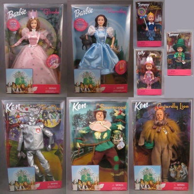 Barbie Wizard of Oz set (8 pieces)