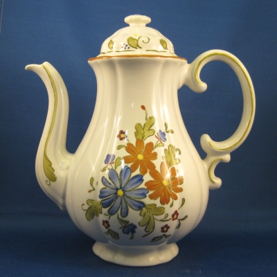 Metlox Vernon Bouquet coffee pot