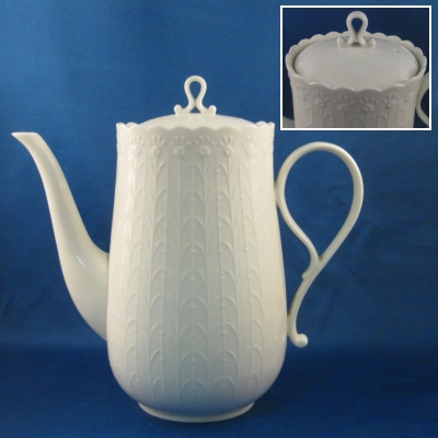 Mikasa White Silk coffee pot