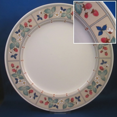 Mikasa Strawberry Hill dinner and salad plates