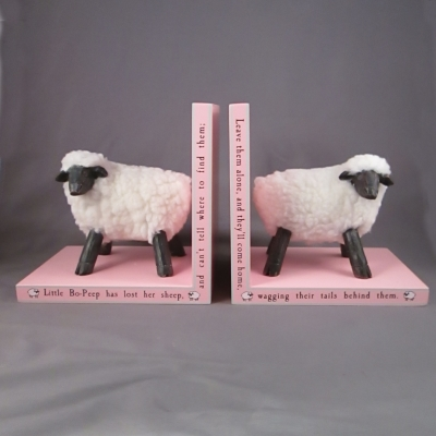 Mudpie Little Bo Peep bookends