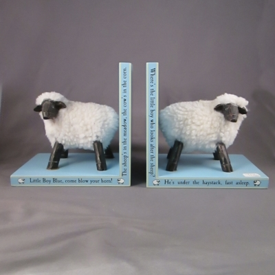 Mudpie Little Boy Blue bookends