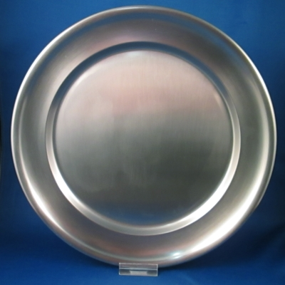 National Silver/Towle 18/8 stainless round tray