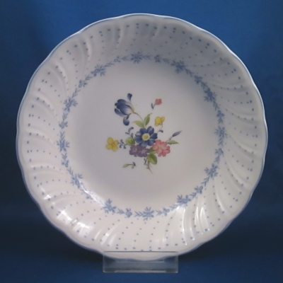 Nikko Blue Peony soup/cereal bowl