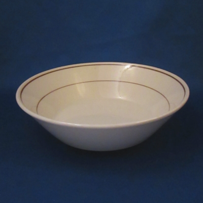 Nikko Brown Plaid cereal bowl