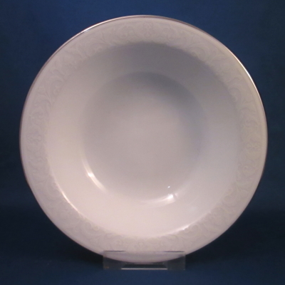Nikko White Lace Platinum cereal bowl