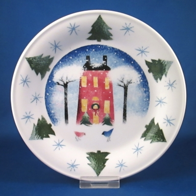 Nikko Winter Wonderland bread & butter plate (House)