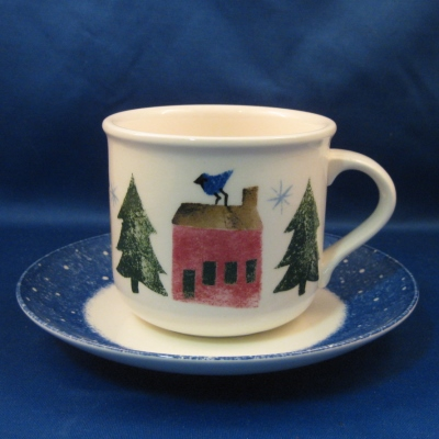 Nikko Winter Wonderland cup and saucer