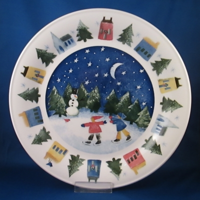 Nikko Winter Wonderland dinner plate