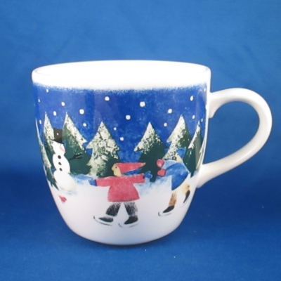 Nikko Winter Wonderland mug (Skaters)