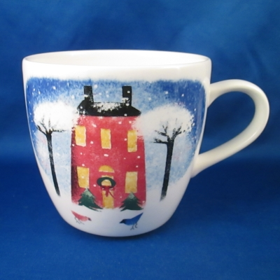 Nikko Winter Wonderland mug (House)
