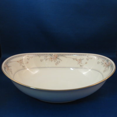 Noritake Orient Point oval vegetable bowl