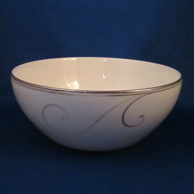 Noritake Platinum Wave small serving bowl