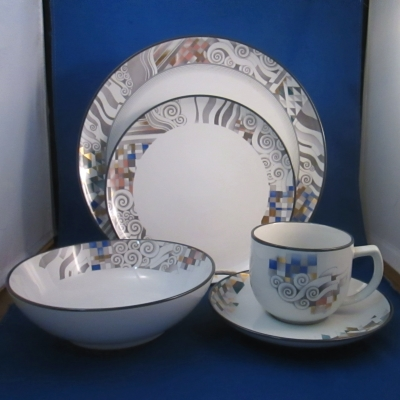 Noritake Aspiration 5 piece place setting