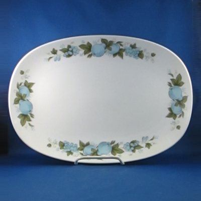 Noritake Blue Orchard medium oval platter